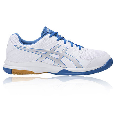 Asics Gel-Rocket 8 White and Silver